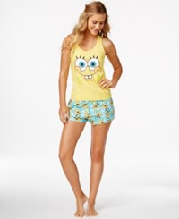 Briefly Stated Spongebob Tank And Boxer Shorts Set