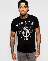 Friend Or Faux Pirate T Shirt Black