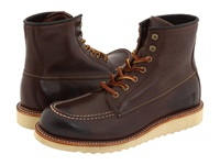 Frye Dakota Wedge Dark Brown Full Grain Leather Men's Lace Up Boots