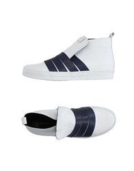 Alessandro Dell'acqua Footwear High Tops And Trainers Men White
