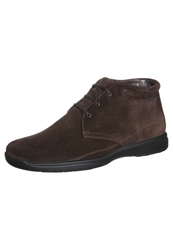 Stonefly Casual Laceups Dark Brown