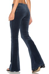 Pam And Gela Flare Leg Pant Teal