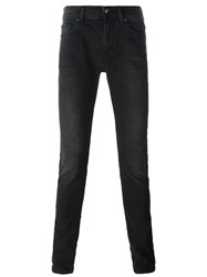 7 For All Mankind Slim Fit Jeans Black