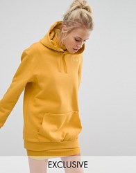 Puma Exclusive To Asos Extreme Oversized Hoodie Mineral Yellow