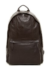 Cole Haan Leather Backpack Brown