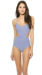 Zinke Andi One Piece Swimsuit Blue Stripe