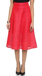 Dkny Full Midi Skirt Blazing