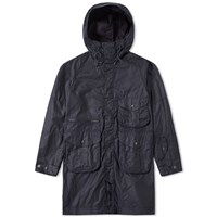 Barbour X White Mountaineering Apus Wax Jacket Blue