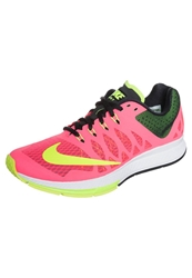 Nike Performance Air Zoom Elite 7 Cushioned Running Shoes Hyper Punch Volt Black Pink