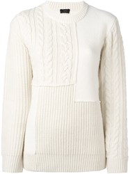 Joseph Chain Knit Pullover Nude And Neutrals