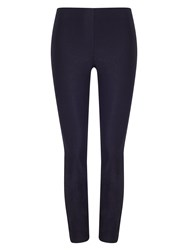 Phase Eight Senia Zip Crop Trousers Navy