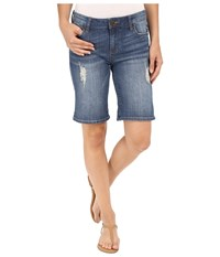 Kut From The Kloth Catherine Boyfriend Shorts In Triumph Triumph Women's Shorts Blue