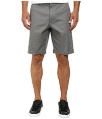 Rvca The Week End Stretch Shorts Smoke Men's Shorts Gray