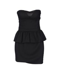By Zoe Short Dresses Black