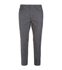 Ted Baker Seton Slim Five Pocket Trousers Male Grey