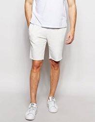 New Look Jersey Shorts In Off White Off White Beige