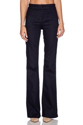J Brand Tailored High Waisted Flare Ink Well