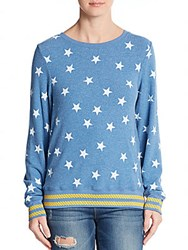 Wildfox Couture Star Print Pullover East Hampton