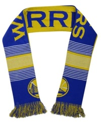 Forever Collectibles Golden State Warriors Reversible Split Logo Scarf Royalblue