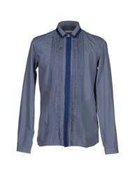 Richard Nicoll Shirts Shirts Men Dark Blue