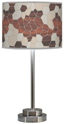 Jefdesigns Geode Stem Table Lamp