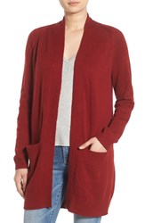 Women's Bp. Open Front Cardigan Red Sun