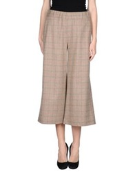 Rose' A Pois Casual Pants Dove Grey