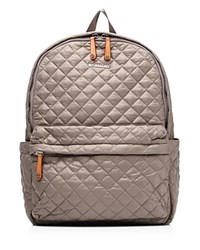 M Z Wallace Mz Wallace Backpack The Metro Taupe Oxford