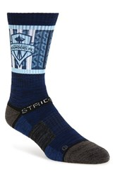 Men's Strideline 'Seattle Sounders Fc' Strapped Fit 2.0 Socks