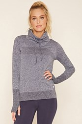 Forever 21 Athletic Cowl Neck Pullover