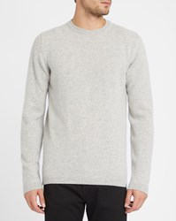 Norse Projects Grey Sigfred Lambswool Sweater