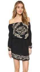 Rory Beca Fore Off Shoulder Dress Onyx