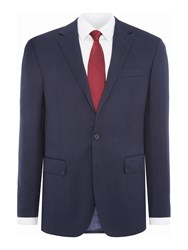 Polo Ralph Lauren Polo1 Single Breasted Solid Two Piece Suit Blue
