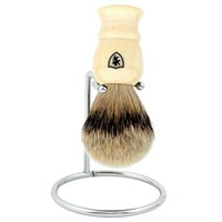 Min New York Mixed Badger Shave Brush Ivory