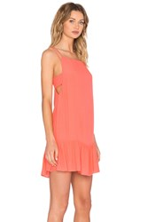 Ikks Paris Tank Mini Dress Orange