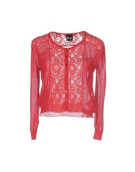 Pf Paola Frani Knitwear Cardigans Women Coral