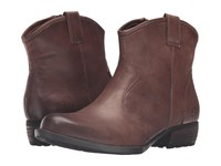 Born Himalia Ebano Full Grain Leather Women's Boots Brown
