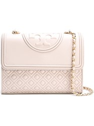 Tory Burch 'Fleming' Cross Body Bag Pink And Purple