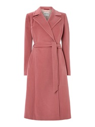 Cloud Nine Long Wrap Coat Rose