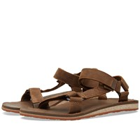 Teva Original Universal Premium Leather Sandal Brown