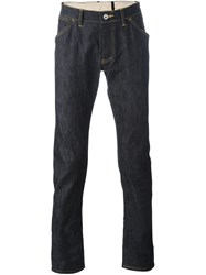 Attachment Slim Fit Jeans Blue
