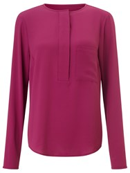 Bzr Lollis Crepe Blouse Purple