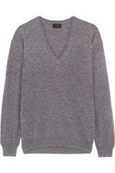 J.Crew Cashmere Sweater Gray