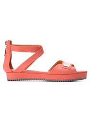 Ginger And Smart 'Supine' Flat Sandals Pink And Purple