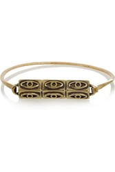 Pamela Love Six Eye Gold Tone Bracelet