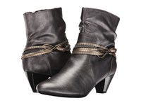 Soft Style Gayla Dark Pewter Vitello Women's Pull On Boots