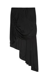 Issa Draped Skirt Black