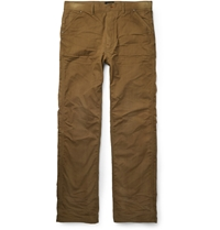 Chimala Yarn Dyed Cotton Trousers Brown