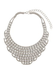 Mikey Chain Link Red Indian Necklace