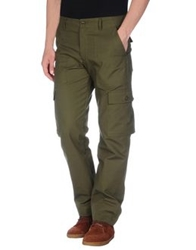 Woolrich Woolen Mills Casual Pants Military Green